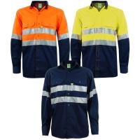 TITAN Vented Reflective Mining Shirt