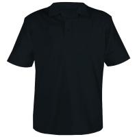 SANTON Pique-Knit Golf Shirt